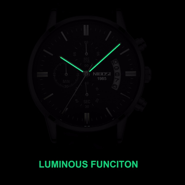 Luxury Military Sport Quartz Watch