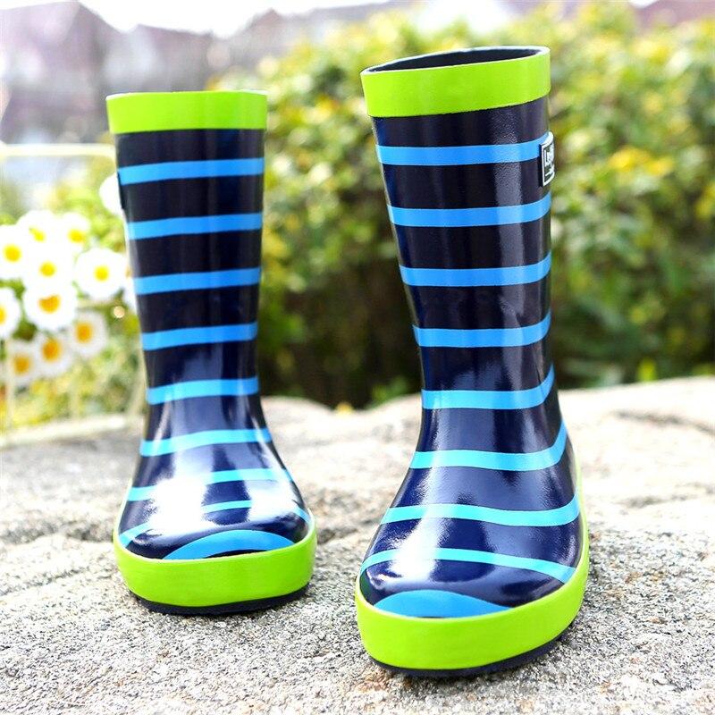 Maggie's Walker Rain Season Boys Buty przeciwdeszczowe Niebieskie - Obuwie dziecięce - Zdjęcie 4
