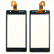 Whole Sale 5PCS/LOT Top Quality New Black Touch Screen Digitizer for sony Xperia ZR M36h M36 C5502 C5503 Touch Glass Panel