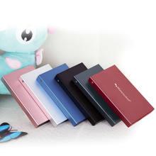 Disque dur externe HDD de 1000 go, 160 go, 1 to, pour ordinateur portable ou de bureau
