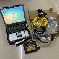 Лучший профессиональный для BMW сканер инструмент для BMW ICOM A2 b c с программным обеспечением 2019,05 супер SSD с ноутбуком cf30 ноутбук 4g win7