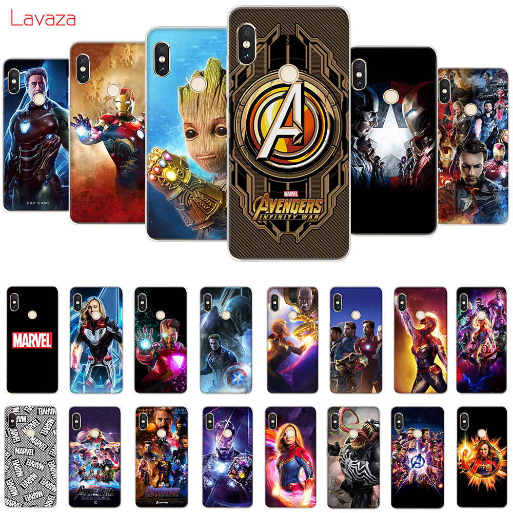 Lavaza <font><b>Marvel</b></font> MCU Avengers Endgame Hard Case for <font><b>Huawei</b></font> Mate 10 20 <font><b>P10</b></font> P20 <font><b>Lite</b></font> Pro P smart 2019 for Honor 8X 9 <font><b>Lite</b></font> <font><b>Cover</b></font> image