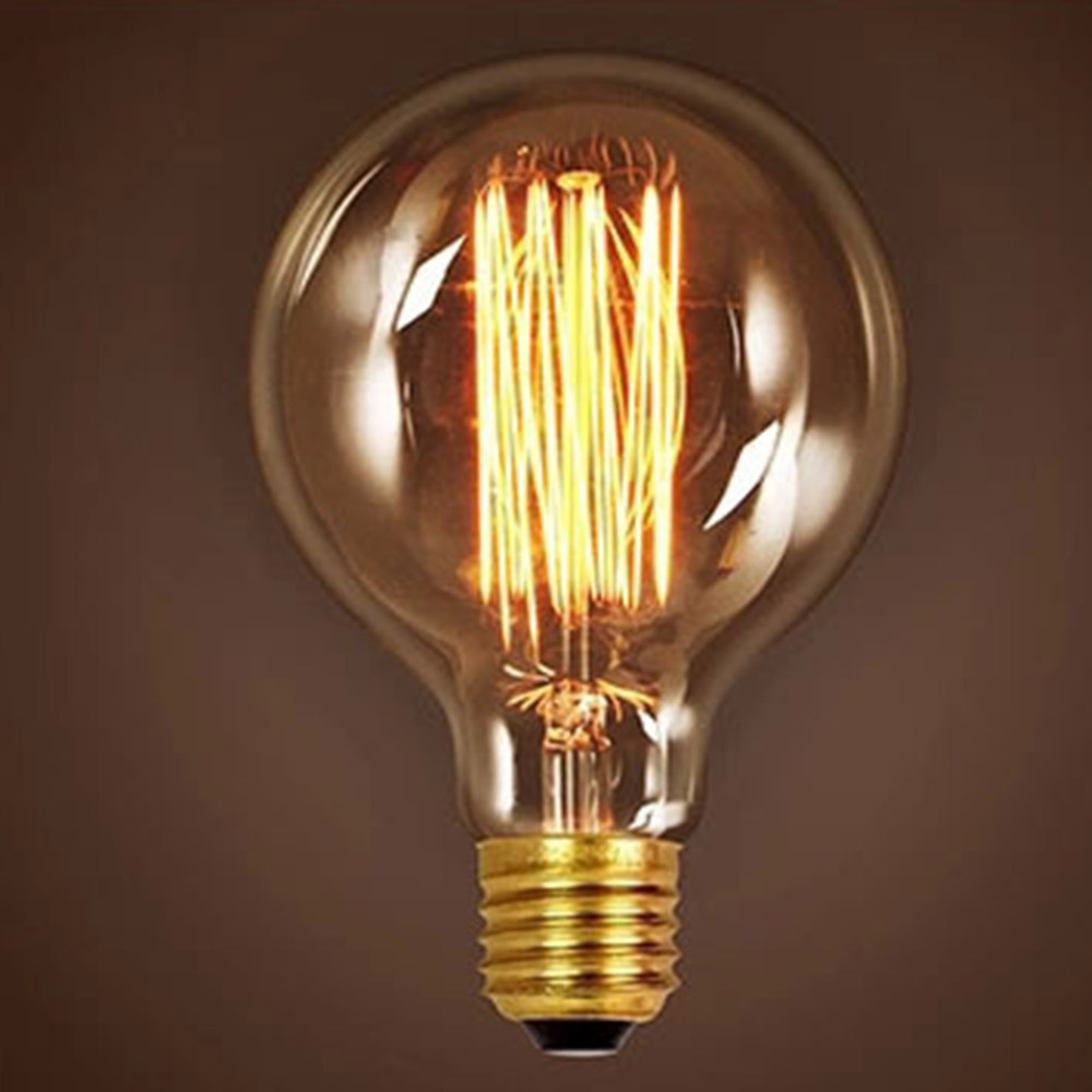 Newhouse Lighting 40w Equivalent Incandescent St19: E27 G95 Retro Vintage Edison Bulb Various 40W 60W