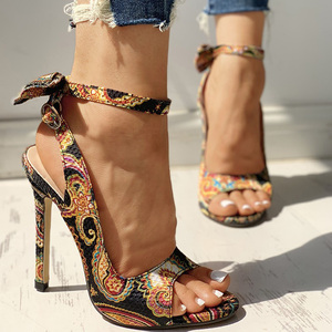 Summer Women Thin High Heels P