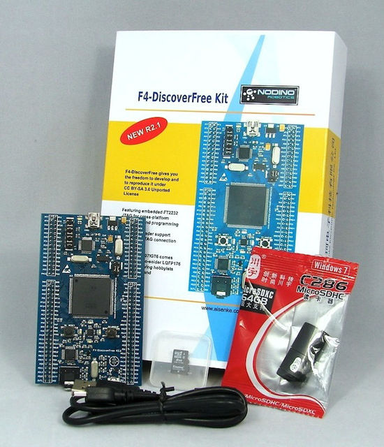 Nodino Robotics - F4-Discoverfree Kit  R2.1  STM32F407 Development Board  ARM Cortex-M4
