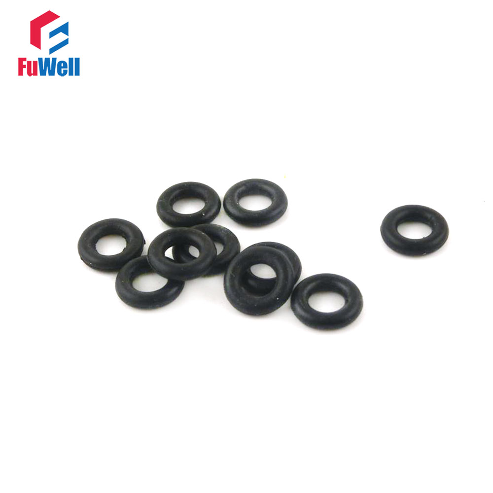 20pcs O Ring Seal NBR 2.5mm Thickness O-ring Gasket Sealing 7/8/9/18/19/20mm OD Oil Resistant O Type Ring Gasket стоимость