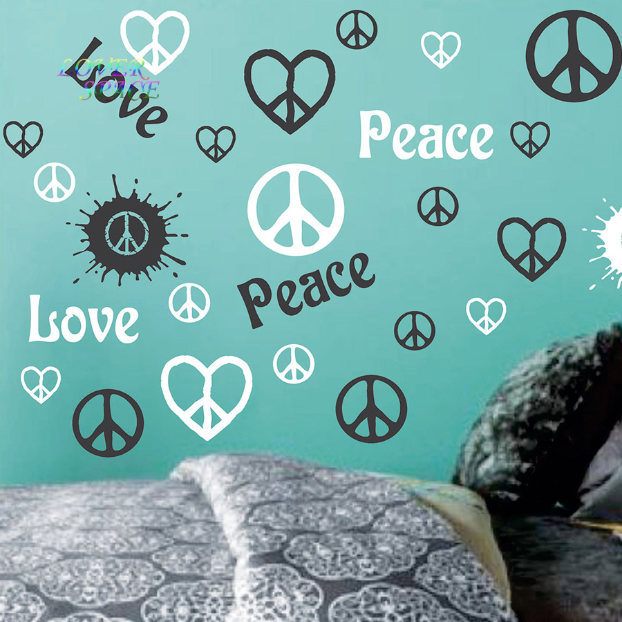 Peace Sign Decorations For Bedrooms Online Get Cheap Peace Sign Decorations Aliexpresscom Alibaba