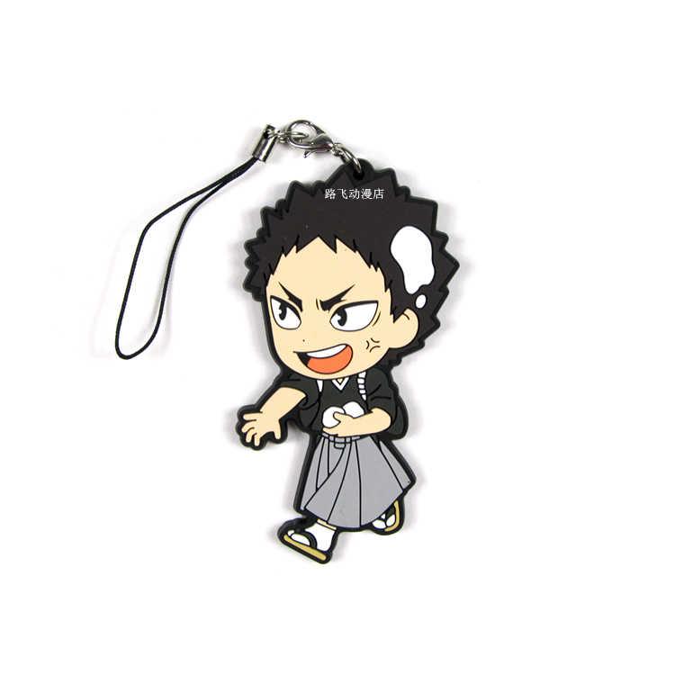 Haikyuu! Hinata Shoyo Kageyama Tobio Sugawara Koushi Tanaka Ryunosuke Action Figure Anime Model Sleutelhanger Hanger Geschenken 6cm
