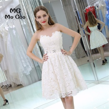 Fashion Lace cocktail party dresses homecoming dress Sweetheart Crystals Party Dress short homecoming dress фото