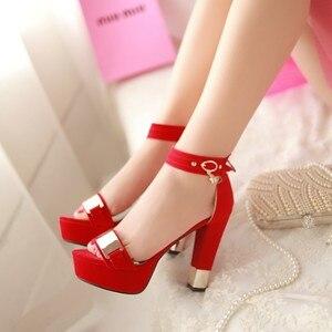 Image 3 - Signore di estate sapatos mulher schoenen vrouw tacchi alti chaussure femme zapatos mujer scarpe da donna sandalias femme T865
