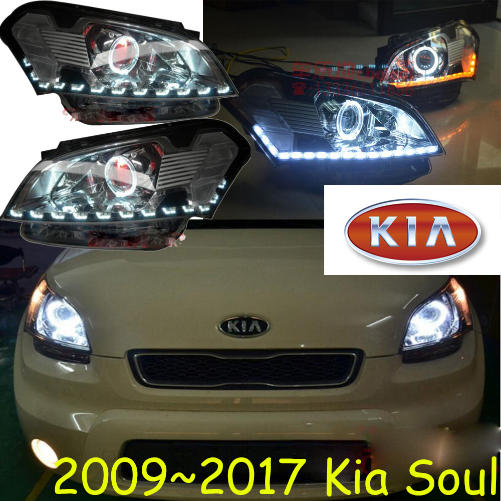 KlA Soul headlight,2009~2017 (Fit for LHD and RHD),Free ship!KlA Soul daytime light,soul head light,KX5,K5,K5,soul head lamp hid 2011 2014 car styling kla k5 headlight sportage soul spectora k5 sorento kx5 ceed k5 head lamp cerato k5 head light