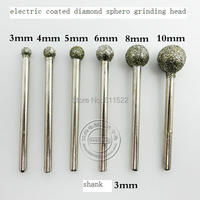 Mini Grinder Tools 6pcs Grinding Kit Made Of 46 Diamond And 3mm Shank At Good Price