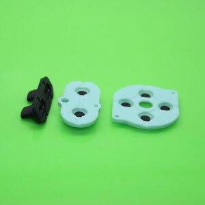 Image 3 - 30 100 set di Pad In Gomma Conduttiva Set Per Nintendo Game Boy Color GBC Pulsante D Pad pulsante di avvio