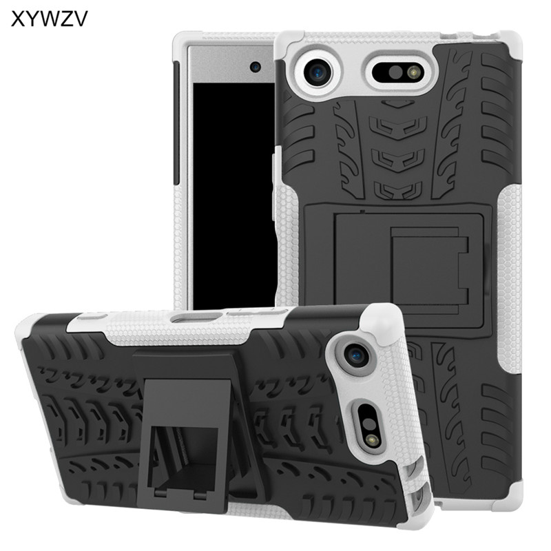 Image 5 - For Sony Xperia XZ1 Compact Case Shockproof Cover Hard Phone Case For Sony Xperia XZ1 Compact Back Cover For SONY X Z1 Compact-in Fitted Cases from Cellphones & Telecommunications