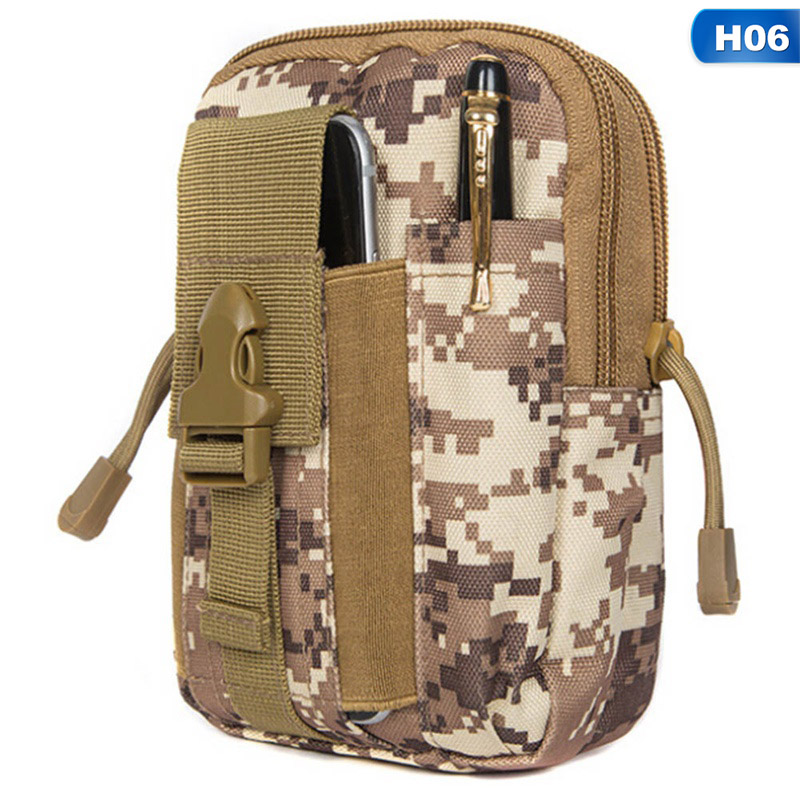 Tactical Edc Utility Gadget Loops Waist Bag Military Phone Pouch Belt Holster Outdoor Camping Climbing Bag To Enjoy High Reputation In The International Market