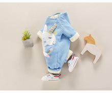 Baby's Cartoon Unicorn Romper
