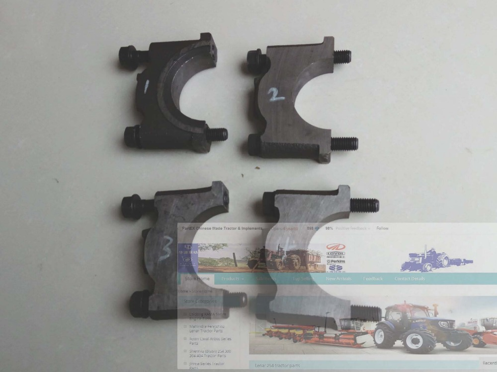 купить Laidong KM385BT,the main bearing caps set, part number: KM485QB-01112 /L375-01110 /01111 по цене 5303.81 рублей