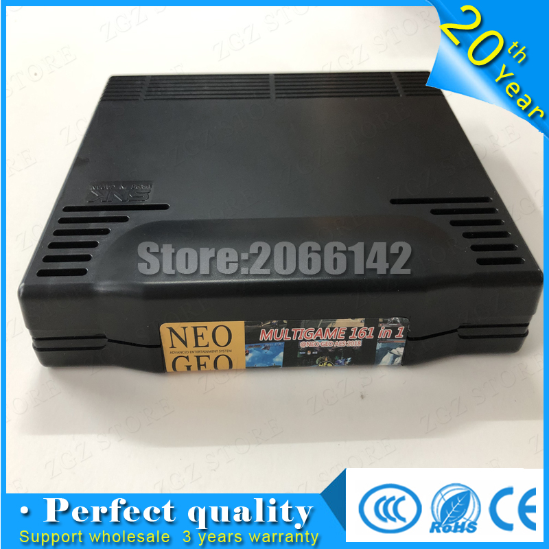 AES SNK 161 in 1 Multi Game Cartridge for Game Board arcade machine game board neo geo cartridge image
