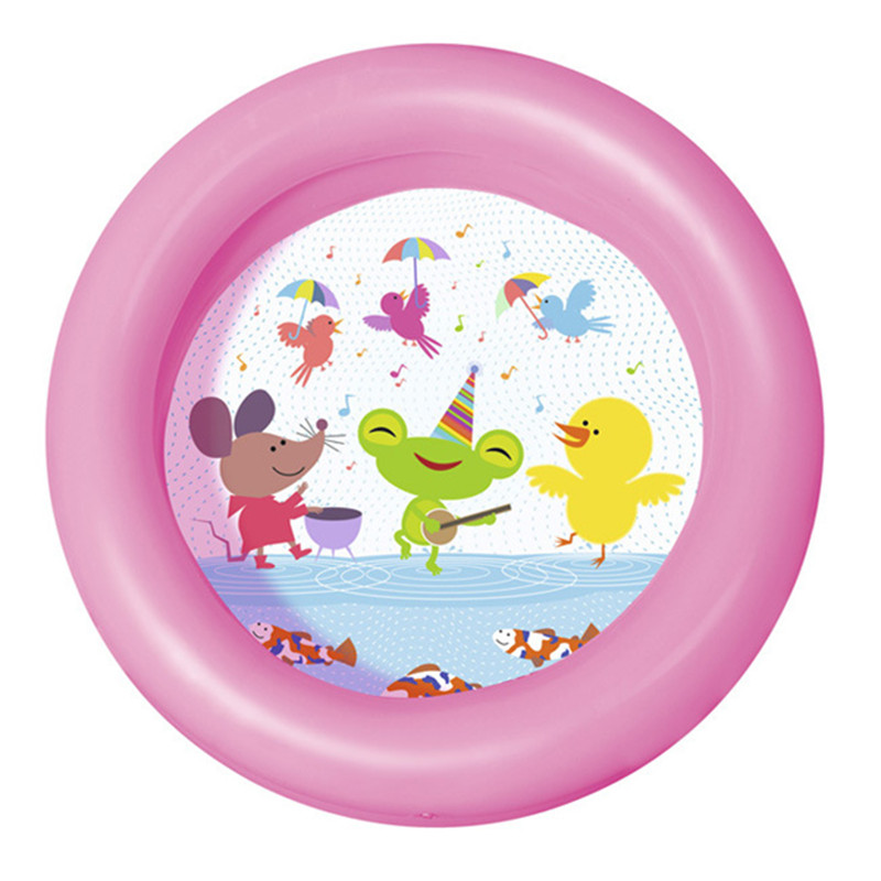 Baby Inflatable Swimming Pool Cartoon Pool Pure Colour Healthy PVC for 0-3 Years old Baby Water Fun Bathtub Ocean Ball Sand Pool ...