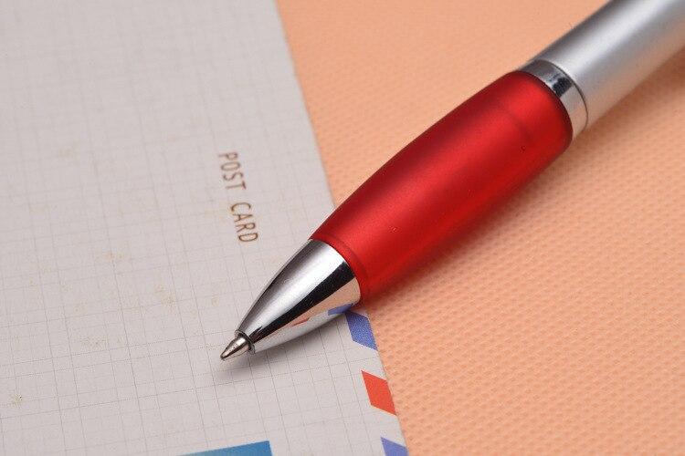 Snelle verzending 1000 stks/partij DHL supply kwaliteit lamp pen LED lamp balpen plastic reclame geschenk pen - 2