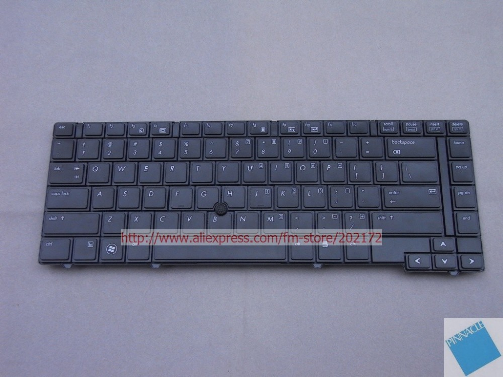 Brand  New  Black  Laptop  Notebook Keyboard  584233-001 585715-001 PK1307E1B00  For  HP ProBook  6440b  6445b us layout