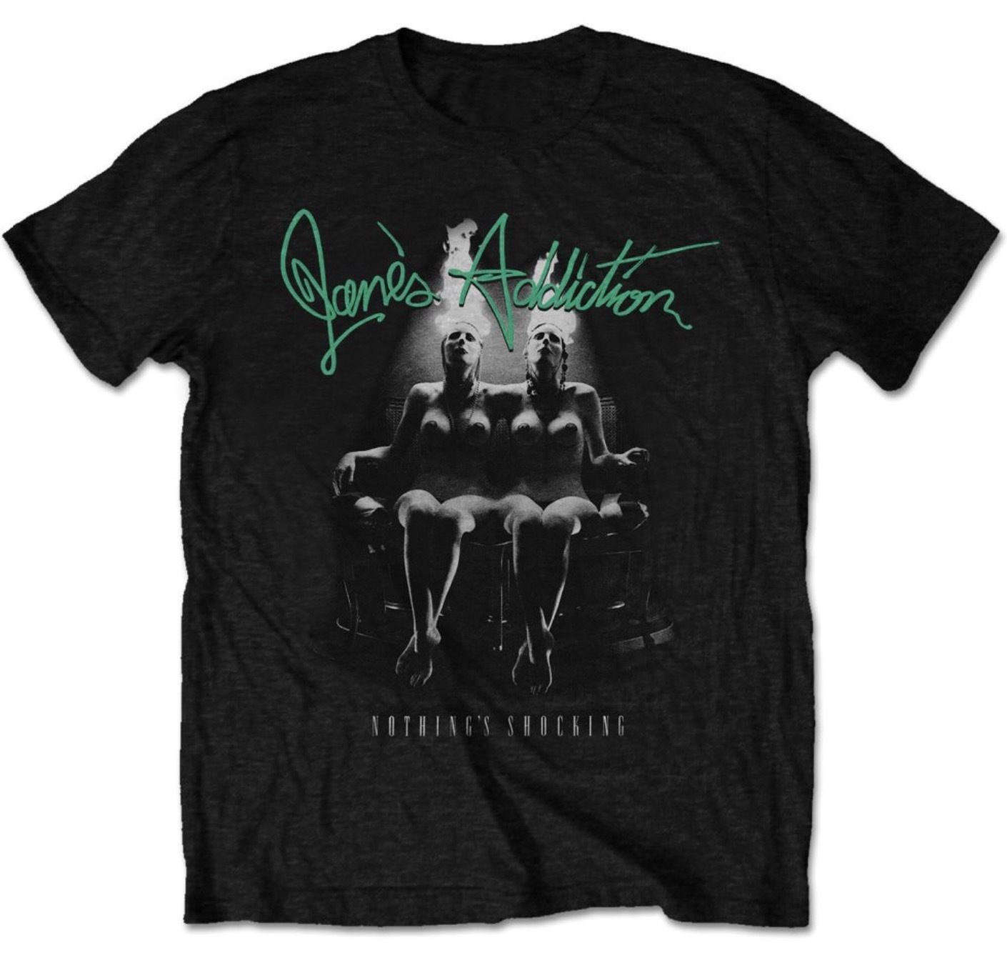 JANES ADDICTION Nothings Shocking Mens T Shirt Various Sizes Official T Shits Printing Short Sleeve Casual O-Neck Cotton