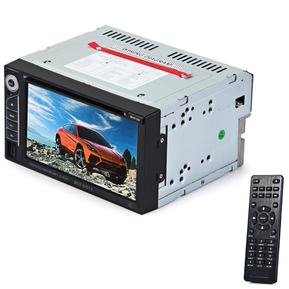 2 Din Car DVD Player Double Din Car Audio Video Player Touch Screen DVD VCD MP5 MP4 MP3 Multimedia Player Support Bluetooth FM