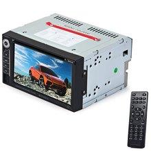 2 Din Coche Reproductor de DVD Doble Din Car Audio Reproductor de Vídeo Pantalla táctil MP5 MP4 DVD VCD MP3 Reproductor Multimedia Soporta Bluetooth FM