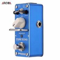 AROMA APE 3 Guitar Effect Pedal Pure Echo Digital Delay Electric Guitar Effect Pedal Mini Single