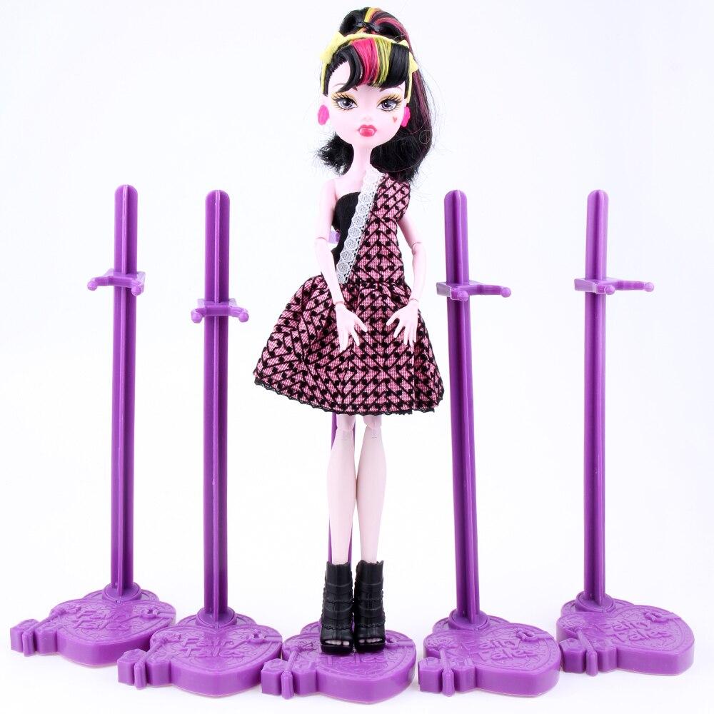 Лот = 10 шт. кукла стенд Дисплей держатель фиолетовый розовый синий для мастера Куклы/мастер Куклы куклыs Интимные аксессуары