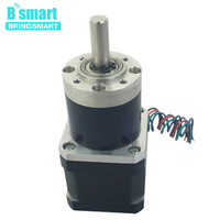 Bringsmart PG36 42BY DC Stepping Gear Motor High Torque Worm Stepper Geared Motors Reduction Planetary Motor Mini Gearbox