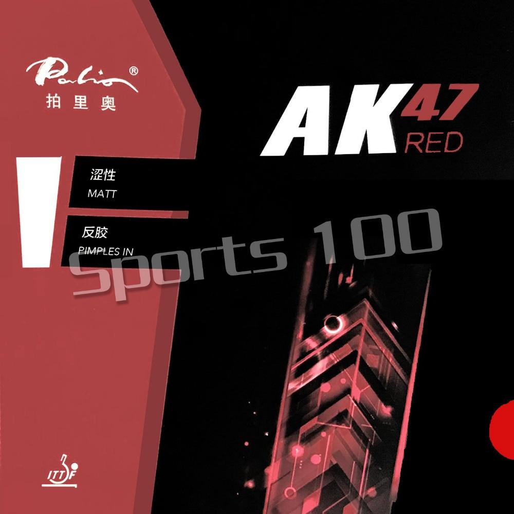 Palio AK47 AK-47 AK 47 rouge boutons mat en ping-pong Tennis de Table caoutchouc avec éponge la nouvelle annonce 2.2mm H45-47