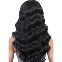 """1 styck tjocka hårhårsblandningar 8 """"-28"""" Ali Express Queen som hårprodukter Non Remy Hair Weave Bundles Brasilian Body Wave"""