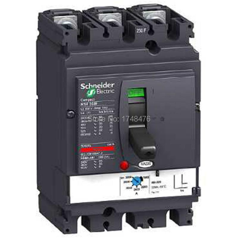 ФОТО NEW LV431748 circuit breaker Compact NSX250F - MA - 220 A- 3 poles 3d