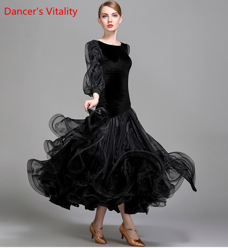 d3cd620c1cb7 Top Quality Professional Standard Ballroom Dance Costume Extra Plus Size  Modern Dancing Dresses 6 Sizes Available A0069