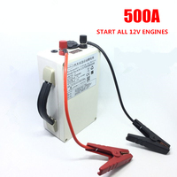 High drain 12V 500A 5V USB Lithium ion Li ion battery for start gasoline/diesel cars emergency Power source