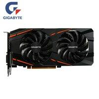 GIGABYTE RX 570 4 Гб игровой GPU видео карта Radeon RX570 Gaming 4G Графика карты для AMD видеокарты карта HDMI PCI-E X16