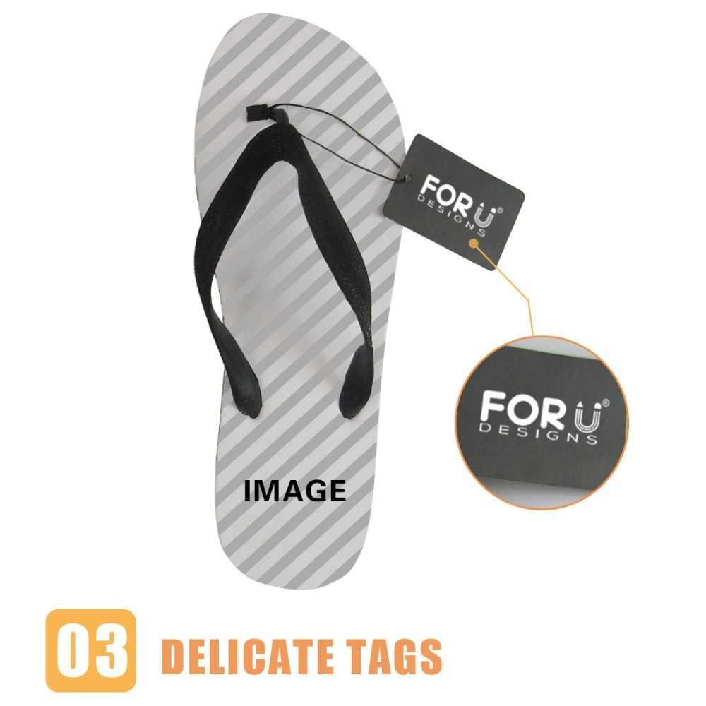 FORUDESIGNSสัตว์Wolf Tigerนกยูงม้า3Dพิมพ์ผู้หญิงรองเท้าแตะผู้หญิงสุภาพสตรีฤดูร้อนชายหาดFlip Flops Mujerรองเท้า