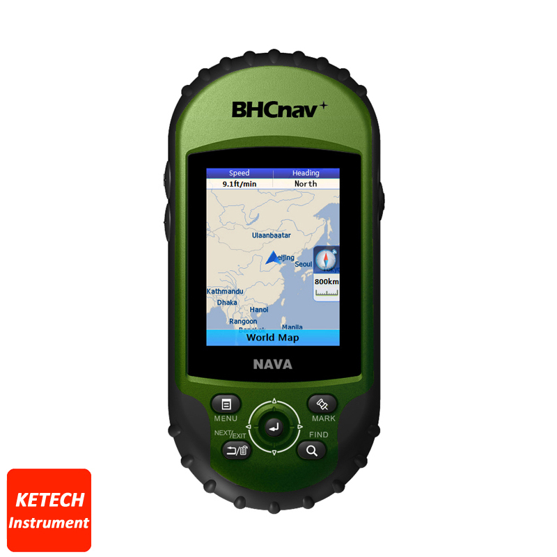 Has Aan Enhanced 2.2, 65K Color, Sunlight readable Display Outdoor Sports Handheld GPS Navigator NAVA 400