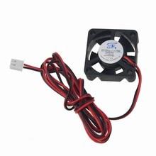 5pcs/lot Mini 30mm DC 12V 2Pin Computer PC VGA Video Heat Spread Cooler Cooling Fan for 3D Printer цена и фото