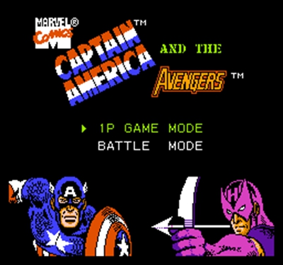 CAPTAIN AMERICAN 60 Pin Game Card For 8 Bit Subor Game Player