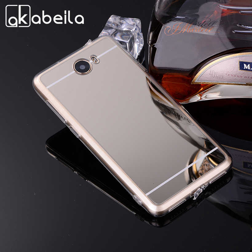 AKABEILA Phone Cases For Huawei Y5II Y5 II Y6 ii Compact Y6 ii MINI CUN-U29 Honor 5A LYO-L21 Y5 2 Soft PC Mirror Case Covers