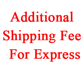 Additional shipping fee for express