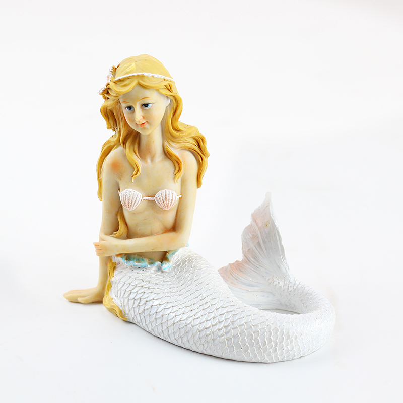 Nicole Silicone Candle Mold DIY Soap Making Tool Mermaid Doll Craft Decorating Mould in Candle Molds from Home Garden