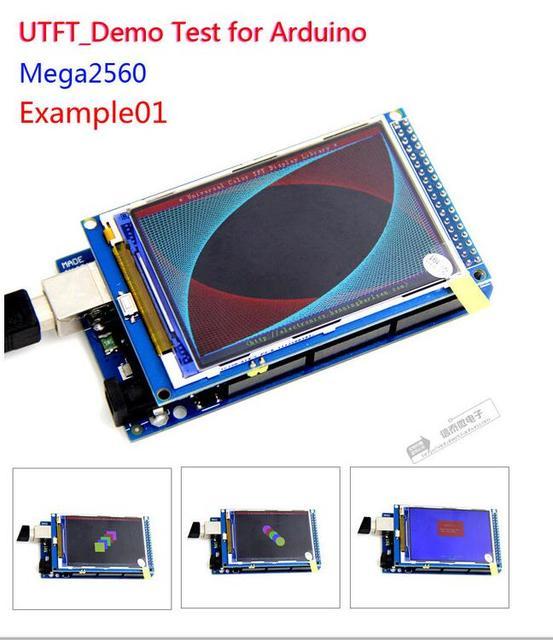 شحن مجاني! شاشة 3.2 بوصة TFT LCD وحدة الترا HD 320X480 متوافقة مع اردوينو لوحة MEGA 2560 R3