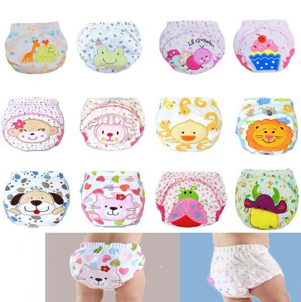 12 tipos de estilos algodón reutilizables impermeables del bebé ...