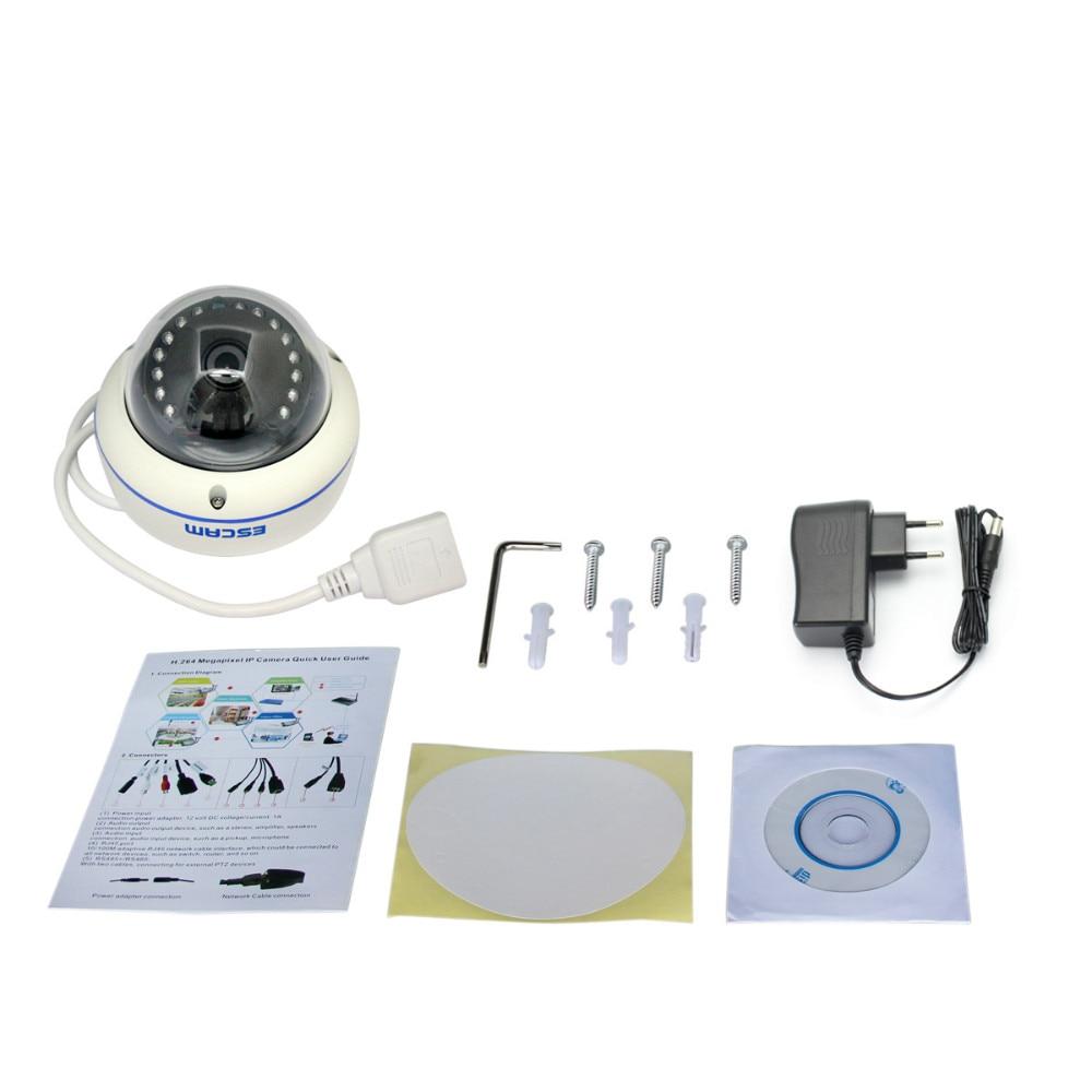 ФОТО ESCAM 720P DWDR Wireless Cloud IP Camera P2P Intercom Motion Detection