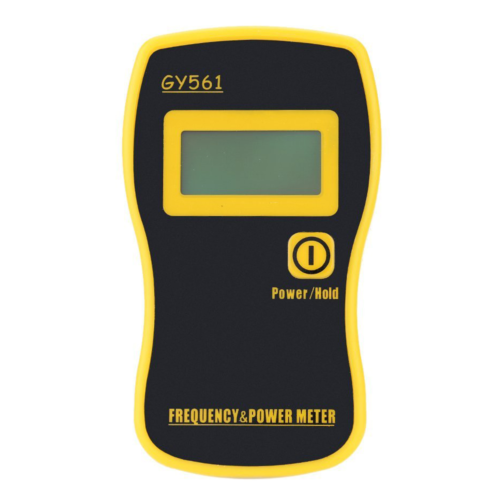 GY561 Mini Handheld Frequency Counter Meter Power Measuring for Two-way Radio ibq102 handheld frequency counter 10hz 100m