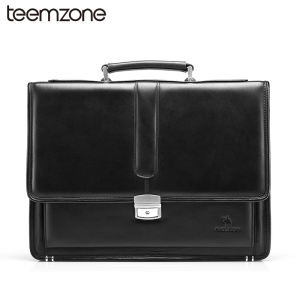 Hot Business Bag Men's Genuine Leather Vintage Formal Business Lawyer Briefcase Messenger Shoulder Attache PortfolioTote T8880