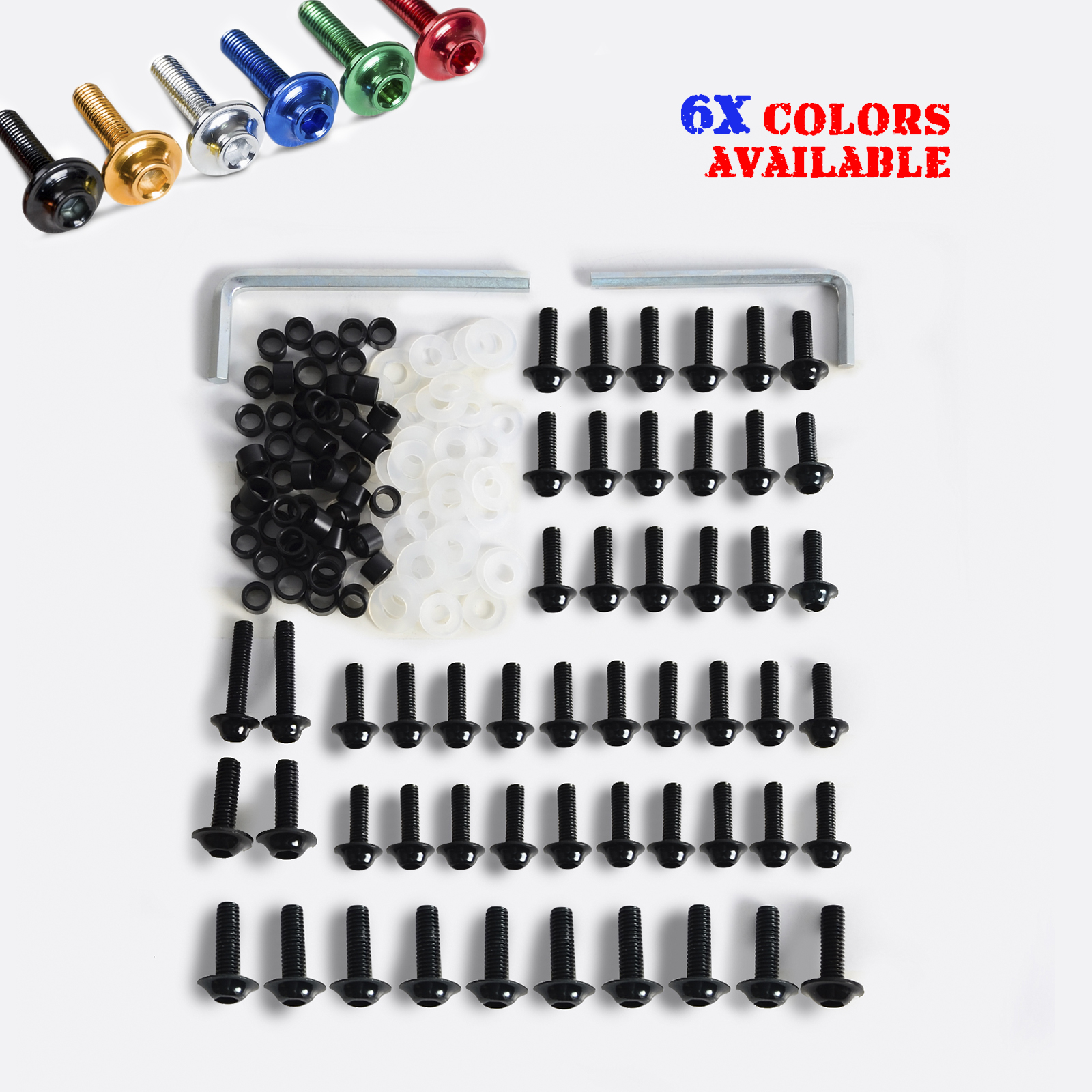 NICECNC Windsheild Windscreen Fairing Bolts Hardware Kit Fastener Clips Screws For Yamaha YZF R6 YZF-R6 1999-2002 Dirt Bikes